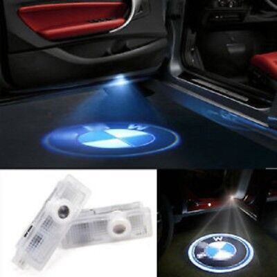 2pc BMW Car Door  LED Light Logo Laser Projector  Emblem Sign Ghost HD