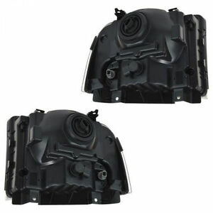 05-07 PAIR HEADLIGHTS SET FORD F-250 F-350 F250 F350 SUPERDUTY H Campbell River Comox Valley Area image 2
