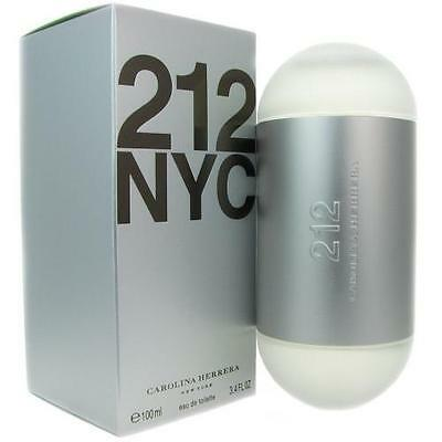 212 Nyc By Carolina Herrera Eau De Toilette Spray 3 4 Oz For Women Sealed
