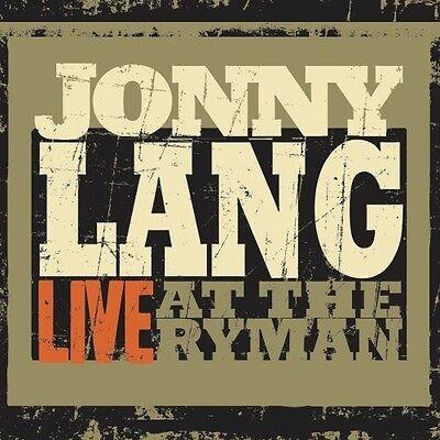 Lang,Jonny - Live At The Ryman (CD