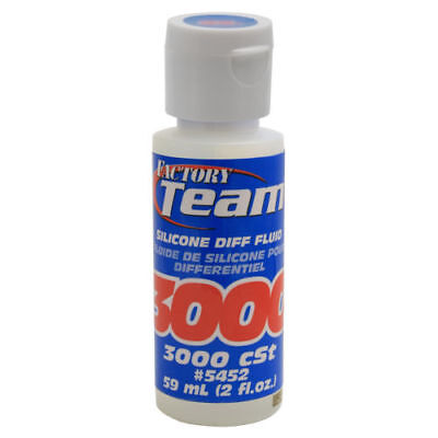 Team Associated Asc5452 Silicone Differential Diff Fluid Oil 3000 Weight 2 Oz