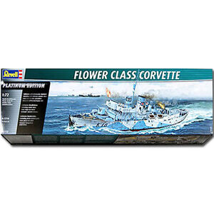REVELL Flower Class Corvette 1:72 Model Kit - 05112