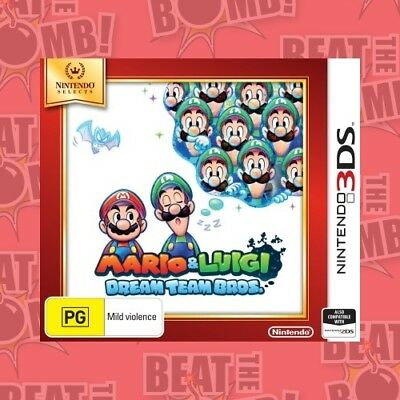 Mario & Luigi Dream Team Bros  - 3DS game - BRAND NEW