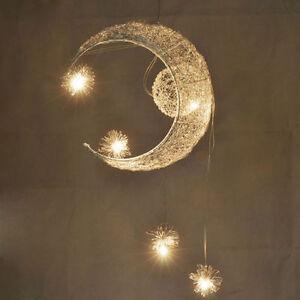 Child kid bedroom pendant lamp light ceiling kids moon - Star ceiling lights for kids ...