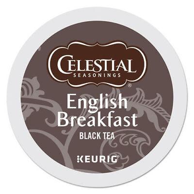 Celestial Seasonings English Breakfast Tea 24 to 120 Keurig K cup Pick Any Size -