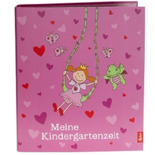 Goldbuch Kindergarten-Sammelordner Pinky Queeny A4, Sigikid Design Ordner Pink