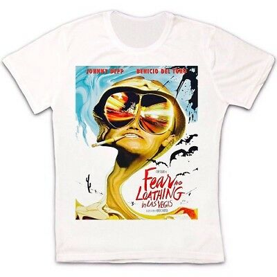 Fear And Loathing In Las Vegas Film Retro Vintage Unisex T Shirt 980