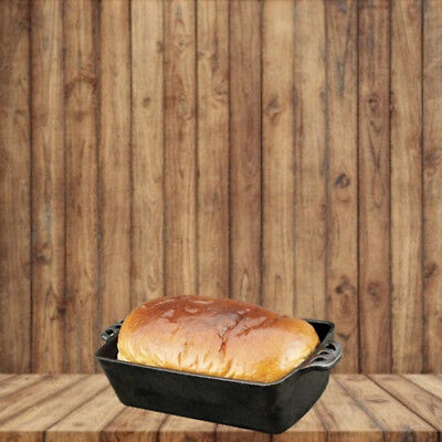 Camp Chef Cast Iron Bread Pan Loaf Home Seasoned Kitchen Cookware Bake bread Camp Chef Cast Iron Bread Pan