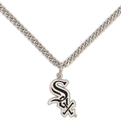 Chicago White Sox Logo Necklace with chain