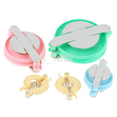 4 Size Plastic Yarn Pom Pom Maker Machine Making Bobble Maker US