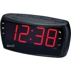 Supersonic SC379 Jumbo Display AM/FM Alarm Clock