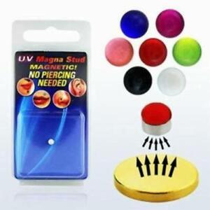 Fake-Magnet-UV-Colored-Magna-Nose-Ear-Lip-Stud-Non-Piercing-Ball
