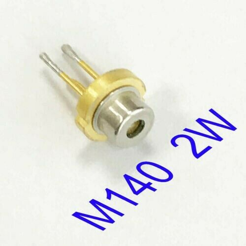 Laser Diode Blue nichia M140 445NM 2W blue beam laser 450nm