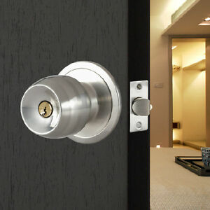 Internal door locks and latches