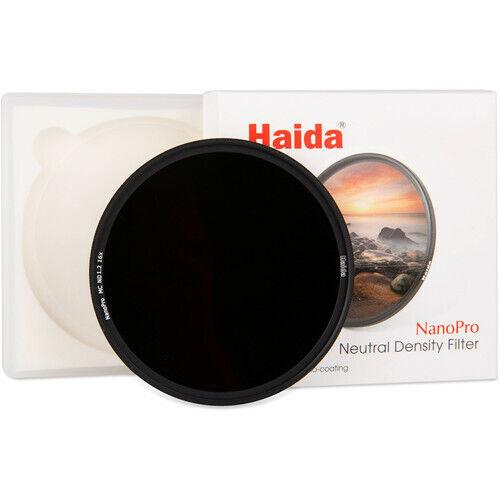 Haida 72mm NanoPro - Multi-Coated Neutral Density ND 1.2 (ND16) Filter