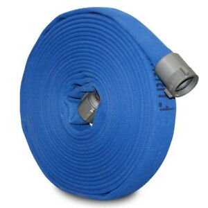 "2 1/2"" x 100' Gasyn-Chem Industrial Fire Hose"