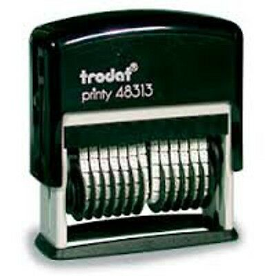 Band Numberers (Trodat 13 Band Numbering Stamp - Trodat 48313 - Black Ink )