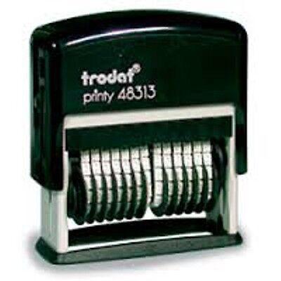 Trodat 13 Band Numbering Stamp - Trodat 48313 - Black Ink