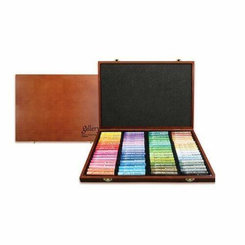 [Mungyo] MOPV-72W Soft Oil Pastels Wood Box Set of 72 - Assorted Colors