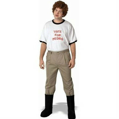 Napoleon Dynamite Complete Costume Kit  Adult Vote For Pedro T Shirt  Accessory