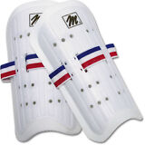 """MacGregor® Plastic Soccer Shin Guards - Adult 9"""" (ONE PAIR)"""