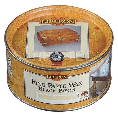 Liberon Fine Paste Wax Bison Wax - Tudor Oak