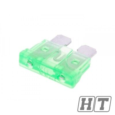 FUSE FLAT FUSE 192MM 30A GREEN FOR SCOOTER MOTORCYCLE