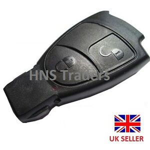 Mercedes benz smart key fob remote 2 button shell case c e for Mercedes benz smart key