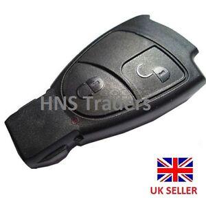 Mercedes benz smart key fob remote 2 button shell case c e for Mercedes benz smart key