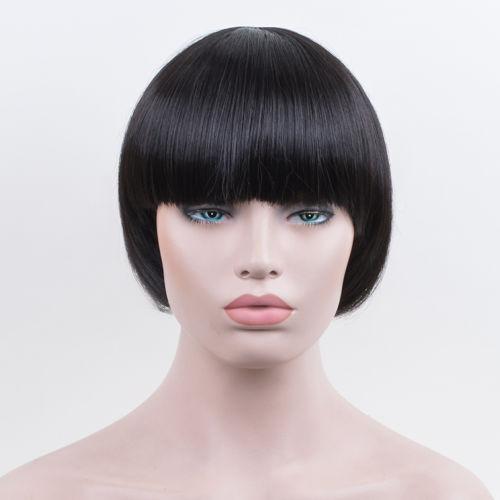 Mushroom Hairstyle mushroom haircuts 30 Bowl Cut Extreme Bob Hair Style Mushroom Head Black Wig Fashion Women Girl Wigs