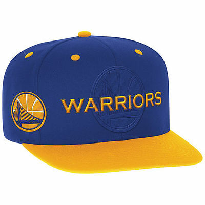 Adidas Golden State Warriors Royal 2016 Nba Draft Snapback Hat   Nba