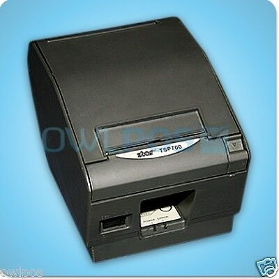 Star Tsp700 Thermal Pos Receipt Printer Parallel Dark Gray Refurbished 743d Ps