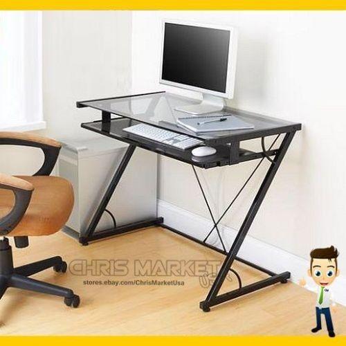 student computer desk glass