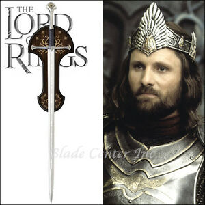 Anduril Sword of King Elessar LOTR UC1380 Instock Licensed United Cutlery