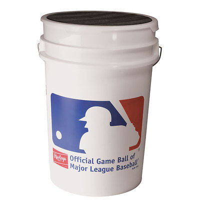 Rawlings ROLB1X Practice Balls with Bucket