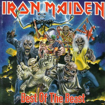 Iron Maiden Best Of The Beast  2CD + 24 Page Booklet  [BRAND