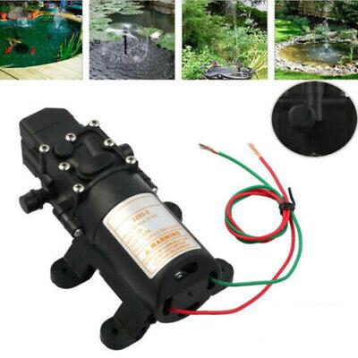 12V Druckwasserpumpe Wasserpumpe Druck hochdruck Trinkwasserpumpe automatik DHL