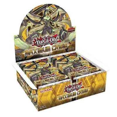Yugioh Yu-Gi-Oh! Maximum Crisis Factory Sealed Booster Box New 1st Edition