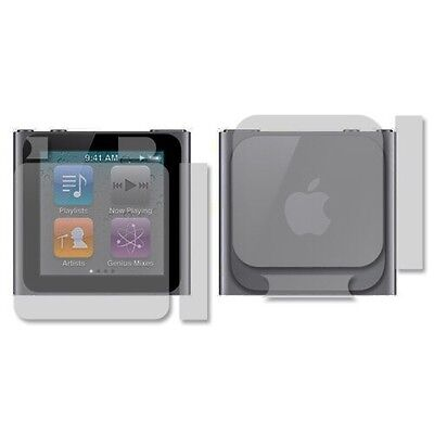 Skinomi Full Body Clear Skin Screen Protector For Apple Ipod Nano 6Th Gen