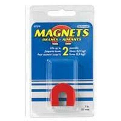 New Master Magnetic 7279 1 2lb Horseshoe Magnet W Keeper Sale 8381543