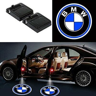 BMW Wireless LED Courtesy Car Logo Door Ghost Shadow Projector Light 2 Pcs