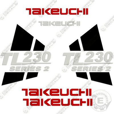 Takeuchi Tl230 Series 2 Loader Equipment Decals