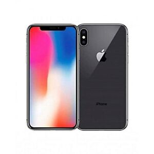 NEW IN BOX- 256GB iPhone X BLACK With ACCESSORIES+WARRANTY