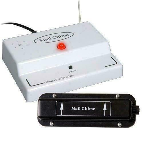 NEW Mail Chime MAIL-1200 Wireless Mail Alert System