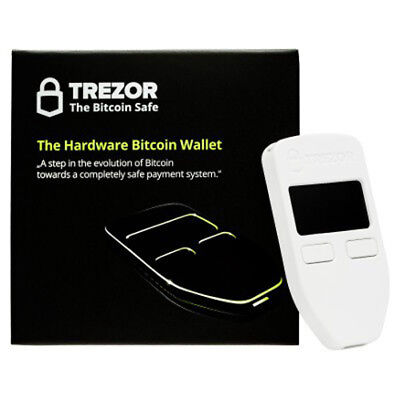 Trezor Hardware wallet for Bitcoin BTC Litecoin LTC ZCash Ethereum ERC20 Dash