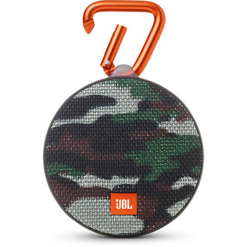 JBL Clip 2 Camouflage Portable Bluetooth Speaker