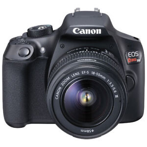 Canon EOS Rebel T7i DSLR Camera with 18-135mm f/3.5-5.6 IS STM L