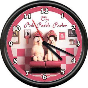 pink poodle dog beauty salon pet grooming groomer shop. Black Bedroom Furniture Sets. Home Design Ideas