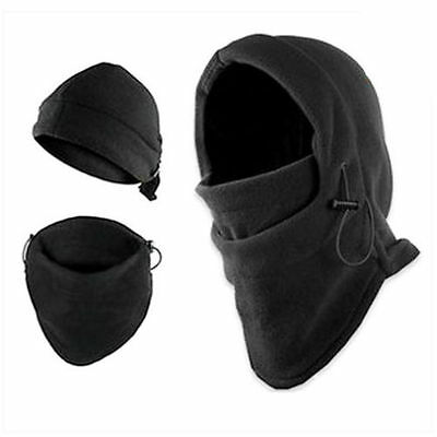 Outdoor Camping Hiking Hat Survival Kit Knife Card Winter Ski Mask Beanie New *