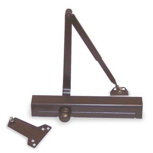 NORTON DOOR CONTROLS 1601, 690 DARK BRONZE SIZE 1-6 ADJUSTABLE DOOR CLOSER